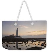 Lighthouse At Low Tide Weekender Tote Bag