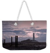 Lighthouse At Low Tide II Weekender Tote Bag