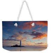 Lighthouse At Sunrise Weekender Tote Bag