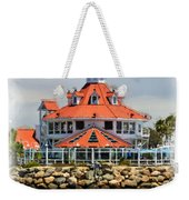 Lighthouse Charm Weekender Tote Bag