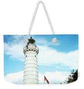 Lighthouse In Door County Weekender Tote Bag