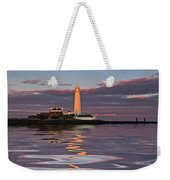 Lighthouse Reflection Weekender Tote Bag