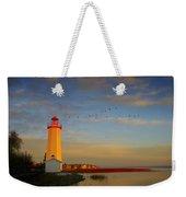 Lighthouse, Sylvan Lake, Alberta, Canada Weekender Tote Bag