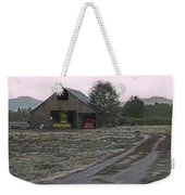 Lightly Colored Barn Weekender Tote Bag