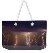 Lightning Dance Weekender Tote Bag