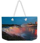Lights On Niagara Weekender Tote Bag