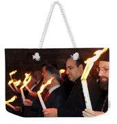 Lights Parade In Beit Jala Weekender Tote Bag