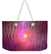 Lightwaves Weekender Tote Bag