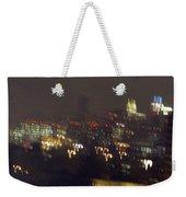 Lightwriting New York City Weekender Tote Bag