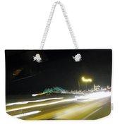 Lightwriting Tappan Zee Bridge Weekender Tote Bag