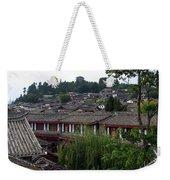 Lijiang Rooftops Weekender Tote Bag