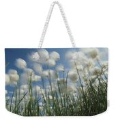 Like Spots Of White Clouds, The Aging Weekender Tote Bag