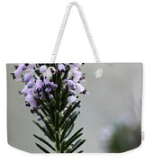 Lil Flower In Lilac Weekender Tote Bag