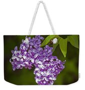 Lilac Flower Blossoms No. 319 Weekender Tote Bag