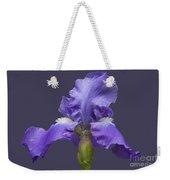 Lilac Iris Weekender Tote Bag