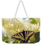 Swallowtail Lilac Spring Photo Weekender Tote Bag