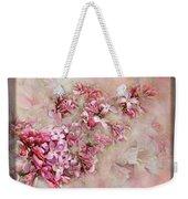 Lilacs And Wegia Weekender Tote Bag
