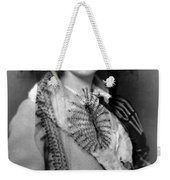 Lillian Gish 1922 Weekender Tote Bag