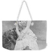 Lillian Russell 1882 Weekender Tote Bag