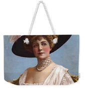 Lillian Russell On Cover Weekender Tote Bag
