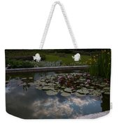 Lillies And Clouds Weekender Tote Bag