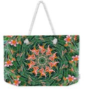 Lilly In Abstract Weekender Tote Bag