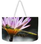 Lilly Visitor Weekender Tote Bag by Lauri Novak