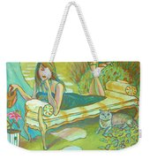 Lilly's No Stargazer Weekender Tote Bag