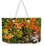 Lily Garden Bouquet  Weekender Tote Bag