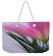 Lily In Motion Weekender Tote Bag
