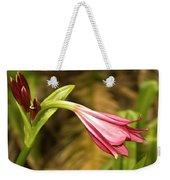 Lily In Pink Weekender Tote Bag