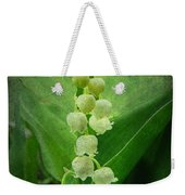 Lily Of The Valley - Convallaria Majalis Weekender Tote Bag