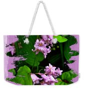 Lily Of The Valley - In The Pink #1 Weekender Tote Bag
