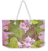 Lily Of The Valley - In The Pink #3 Weekender Tote Bag