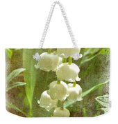 Lily Of The Valley - In White #2 Weekender Tote Bag
