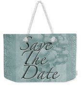 Lily Of The Valley Save The Date Greeting Card Weekender Tote Bag