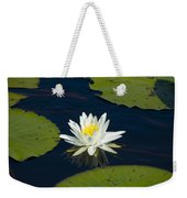 Lily Pad And Flower Weekender Tote Bag