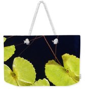Lily Pads And Lotus Blossom Weekender Tote Bag
