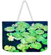 Lily Pads And Lotus Weekender Tote Bag