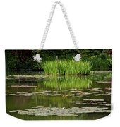 Lily Pads At Giverney Weekender Tote Bag