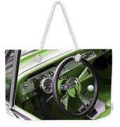 Lime Chevy Impala  Weekender Tote Bag
