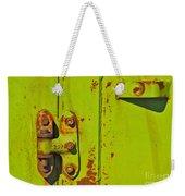 Lime Hinge Weekender Tote Bag