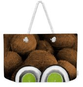 Lime In The Coconut Weekender Tote Bag
