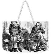 Lincoln Cartoon, 1864 Weekender Tote Bag