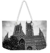 Lincoln Cathedral Facade Weekender Tote Bag