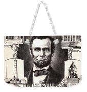 Lincoln Centennial, C1909 Weekender Tote Bag