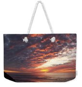 Lincoln City Sunset Weekender Tote Bag