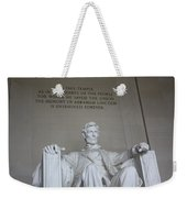 Lincoln Memorial - Enshrined Forever Weekender Tote Bag