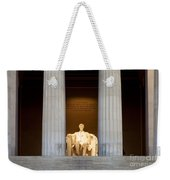 Lincoln Memorial Weekender Tote Bag