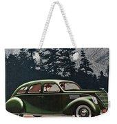 Lincoln Zephyr 1936 Weekender Tote Bag